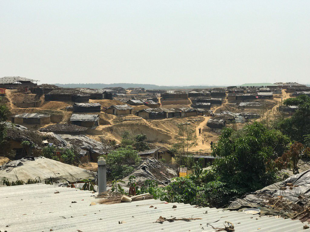 Kutupalong refugee camp, Cox's Bazar District, Bangladesh, ©Fortify Rights, 2017