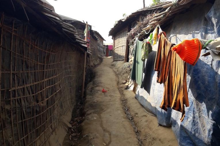 Kutupalong refugee camp, Bangladesh. ©Fortify Rights, 2018