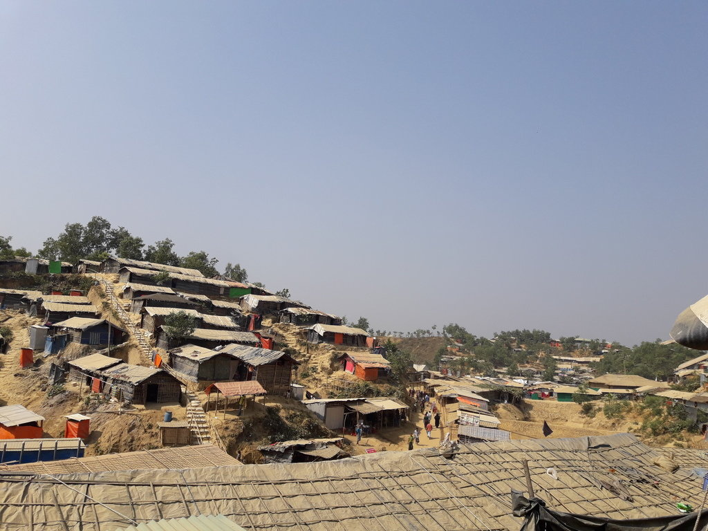 Jamtoli refugee camp in the Bangladeshi district of Ukhia. ©Fortify Rights, 2018