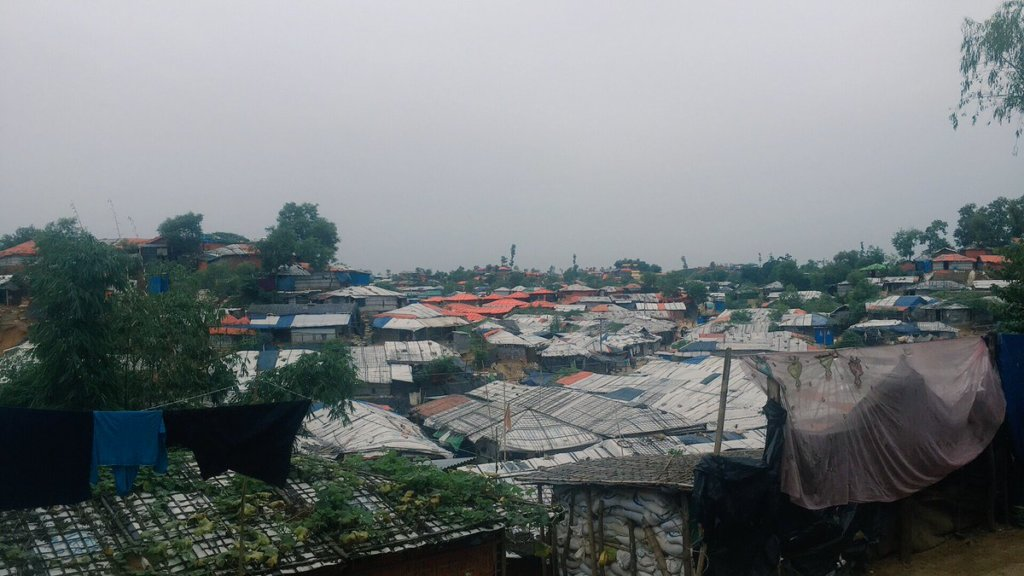 Balukhali refugee camp in Cox's Bazar, Bangladesh. ©Fortify Rights, 2018