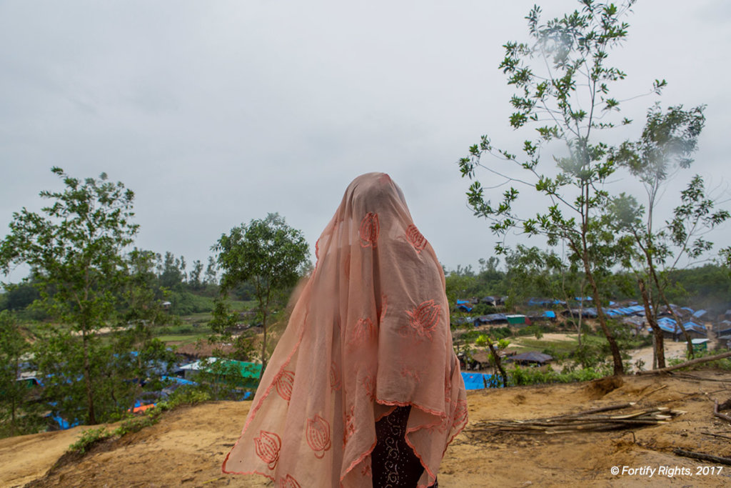 Rohingya survivor of the military-led attacks in Myanmar's Rakhine State now living as a refugee in Bangladesh ©Fortify Rights/Reza Shahriar, 2017