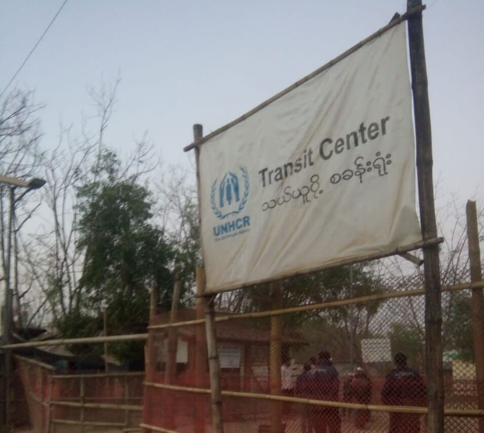 Refugee Transit Center in Kutupalong, Cox's Bazar, Bangladesh. ©Fortify Rights 2019