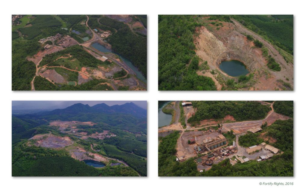 Mining site, Loei Province, September 2016 ©Fortify Rights 2016