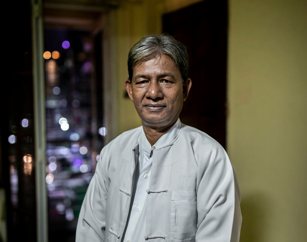 Abu Tahay, a Rohingya whose candidacy application for Myanmar's 2020 elections was rejected. He aims to represent Buthidaung Township in Parliament. ©Hkun Lat, August 2020