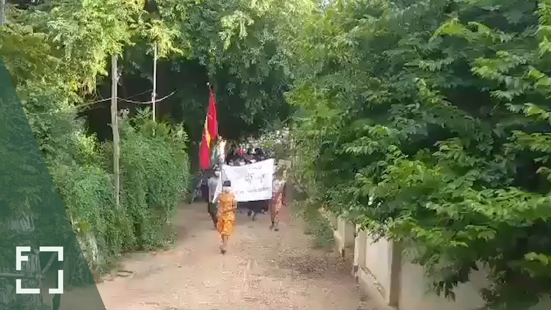 Peaceful Protests Continue Throughout Myanmar